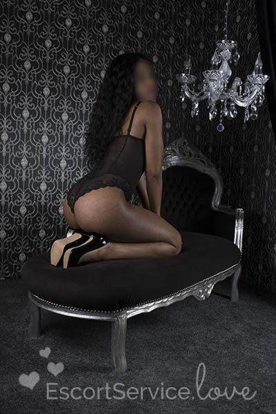 Slanke escort dame Imani